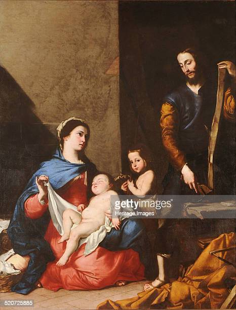 The Holy Family Found in the collection of Museo de Santa Cruz Toledo