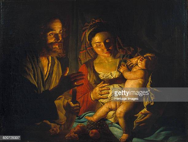 The Holy Family Found in the collection of Museu Nacional d'Art de Catalunya Barcelona