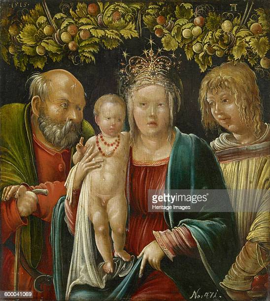 The Holy Family with Saint Agapitus 1515 Found in the collection of Art History Museum Vienne Artist Altdorfer Albrecht