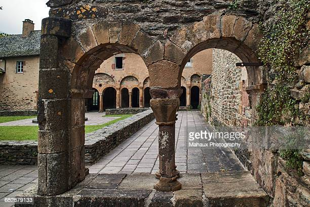 The Holy Foy abbey church in Conques