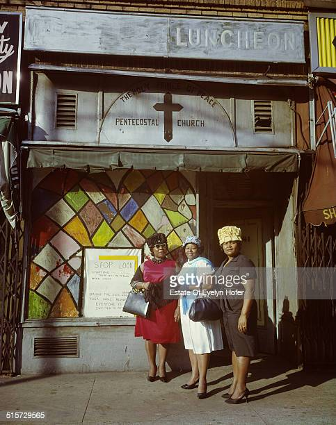 The Holy Prince of Peace Pentecostal Church in Harlem New York 1964