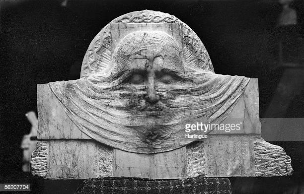 The Holy Shroud Anonymous low relief about 1900