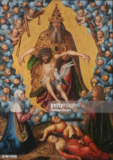 The Holy Trinity ca 1515 Found in the collection of Museum der Bildenden Künste Leipzig