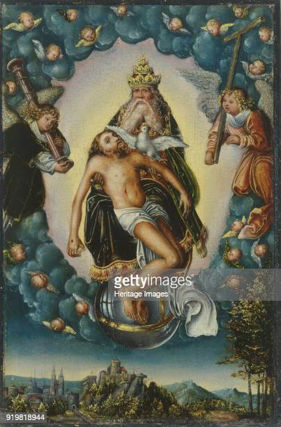The Holy Trinity ca 15161518 Found in the collection of Veste Coburg