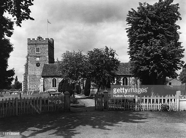 The Holy Trinity Church in Cookham Berkshire circa 1950