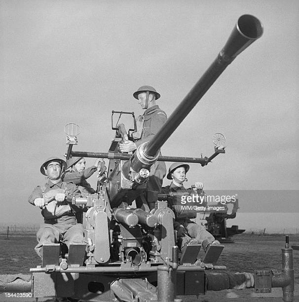 A Home Guard detachment manning an AntiAircraft Command Bofors gun 16 November 1943