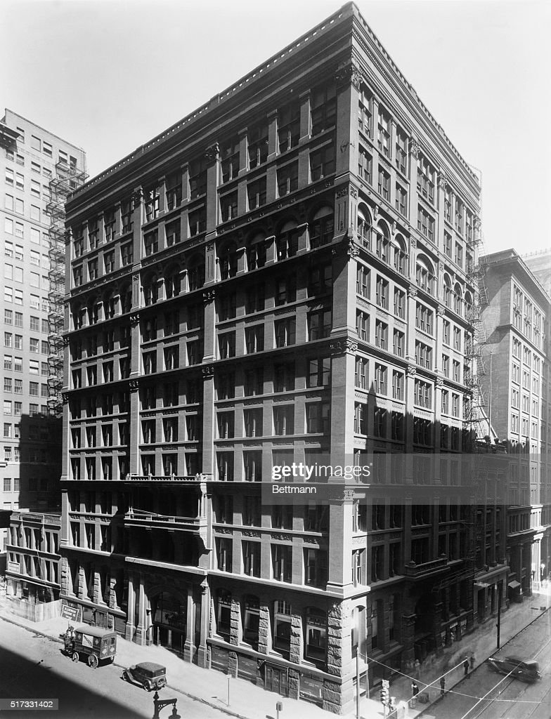"""The Home Insurance Building, the """"first skyscraper"""", in ..."""