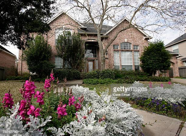 The home of astronaut Lisa Marie Nowak is shown on February 7 2006 in Houston Texas Nowak has been charged with attempted murder after allegedly...
