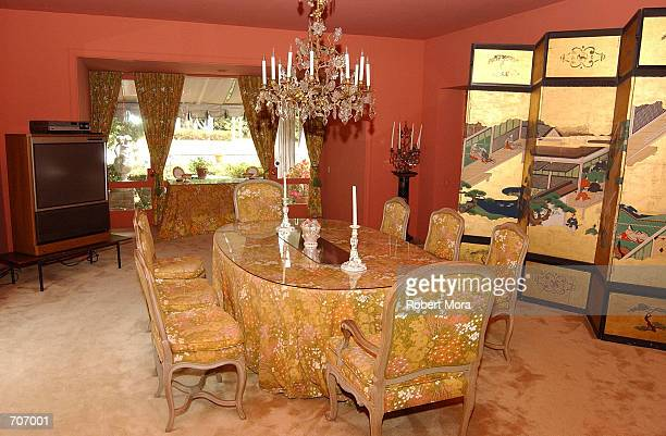 The home of deceased actor Vincent Minnelli and Lee Minnelli is shown March 28 2002 in Beverly Hills CA