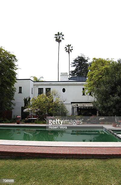 The home of Lee Minnelli and actor Vincent Minnelli sits on display March 28, 2002 in Beverly Hills, CA.