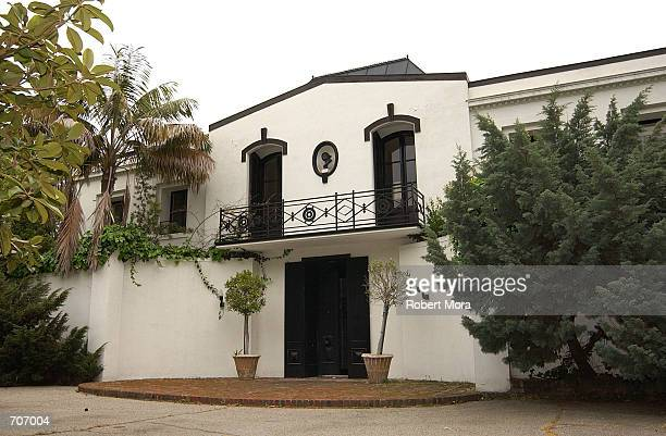 The home of Lee Minnelli and actor Vincent Minnelli sits on display March 28 2002 in Beverly Hills CA