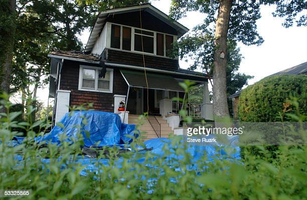 The home of Mahmud Faruq Brent is shown August 4 2005 in Baltimore Maryland Brent also known as Mahmud Al Mutazzim was charged today by the US...