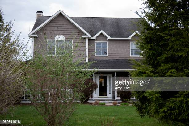 The home of NXIVM President Nancy Salzman at 3 Oregon Trail in Waterford New York on Thursday May 3 2018 Salzman's home was raided by the FBI on...