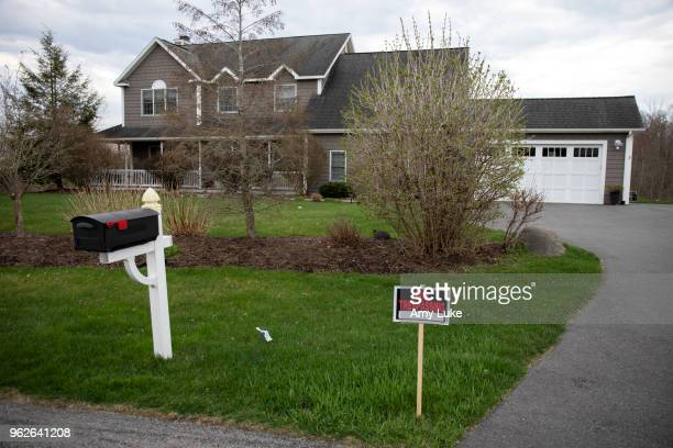 The home of NXIVM President Nancy Salzman at 3 Oregon Trail in Clifton Park New York on Thursday May 3 2018 Salzman's home was raided by the FBI on...