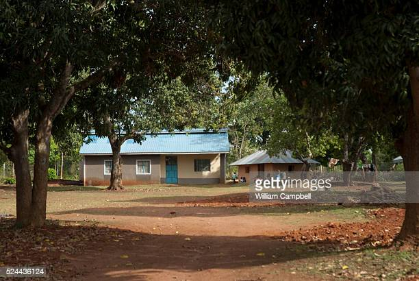 The home of President Obama's grandmother Mama Sarah in Kogelo Nyanza Provice western Kenya His father Barack Hussein Obama is buried in the compound...