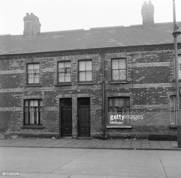 The home of Shirley Bassey's mother Eliza in Tiger Bay Cardiff 22nd January 1960