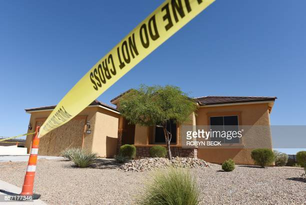 The home of Stephen Paddock is seen in Mesquite Nevada October 3 2017 Stephen Paddock killed 59 people and wounded more than 500 when he opened fire...