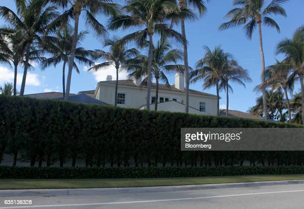 The home of Steve Schwarzman stands in Palm Beach Florida US on Saturday Feb 11 2017 There were camels in the sand a gondolier in the pool and a...