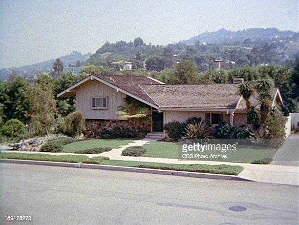 The home of the Brady family in THE BRADY BUNCH episode Hawaii Bound Original air date September 22 1972 Image is a screen grab