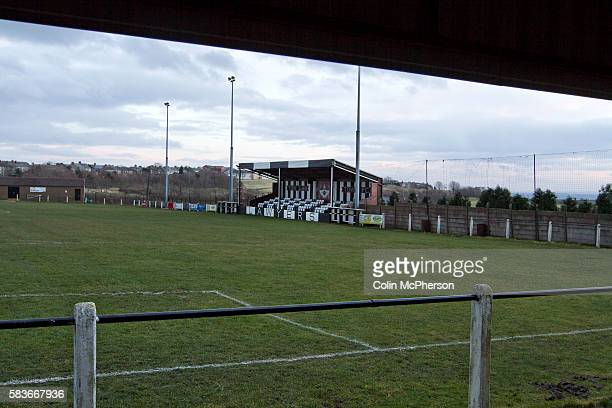 The home of Tow Law Town the Ironworks Road ground pictured before the club hosted Heaton Stannington in a Northern League division two fixture It...