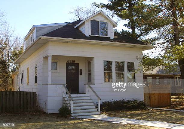 The home where accused spy Robert Phillip Hanssen once lived is seen February 21 2001 in Chicago Hanssen a 25year FBI agent was arrested February 18...