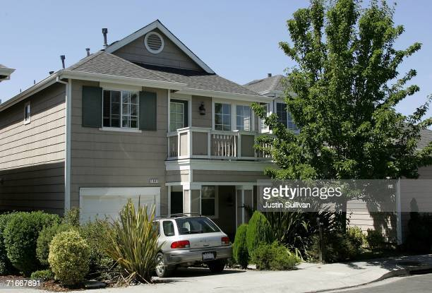The home where John Mark Karr the suspect in the JonBenet Ramsey murder lived with his former wife Lara Karr is shown August 17 2006 in Petaluma...