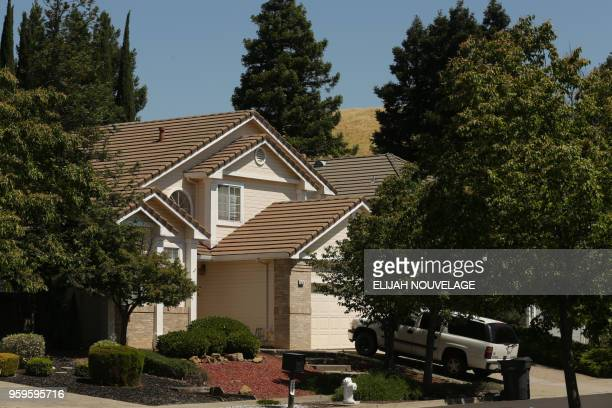 The home where ten children were allegedly tortured and abused is seen on May 17 in Fairfield California A 29yearold California man charged with...