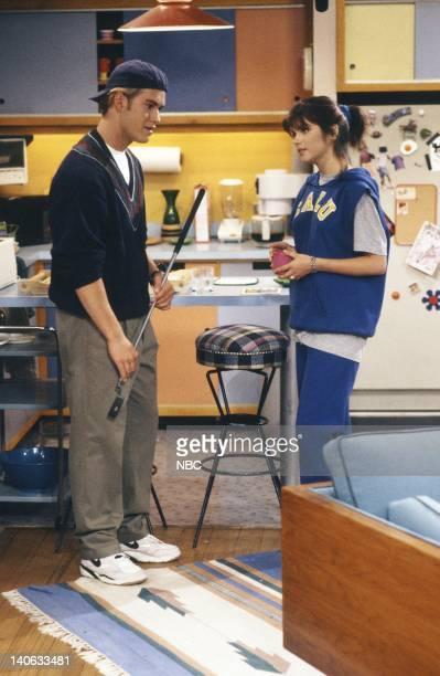 YEARS 'The Homecoming' Episode 6 Air Date Pictured MarkPaul Gosselaar as Zack Morris Tiffani Thiessen as Kelly Kapowski Photo by Paul Drinkwater/NBCU...