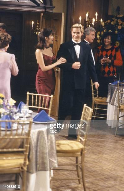 YEARS 'The Homecoming' Episode 6 Air Date Pictured Tiffani Thiessen as Kelly Kapowski MarkPaul Gosselaar as Zack Morris Photo by Paul Drinkwater/NBCU...