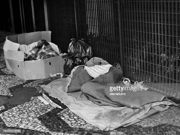 the homeless - sad life concept - homeless person stock pictures, royalty-free photos & images