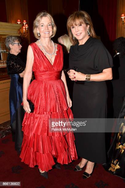 The Hon Hilary M Weston and Mila Mulroney attend the Council for Canadian American Relations Gala at The Metropolitan Club on October 24 2017 in New...