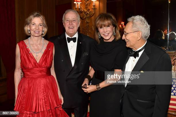 The Hon Hilary M Weston Prime Minister Brian Mulroney Mila Mulroney and Frank Stella attend the Council for Canadian American Relations Gala at The...