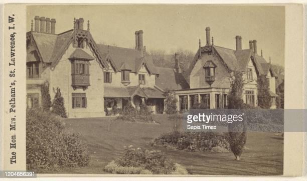 The Hon. Mrs. Pelham's, St. Lawrence, I.W. Frederick Hudson , 1860-1880, Albumen silver print.