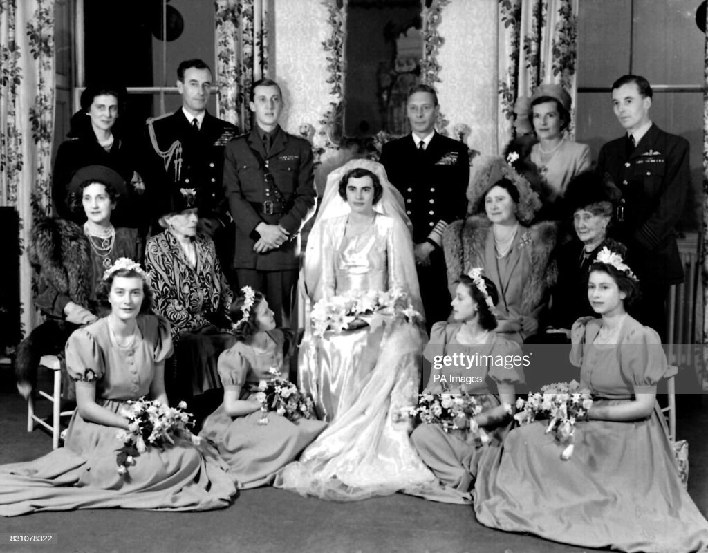 Royalty - Hon. Patricia Mountbatten and Lord Brabourne Wedding - Romsey Abbey : News Photo