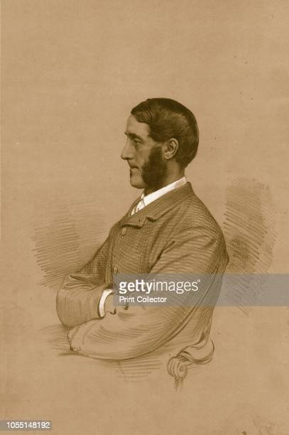 The Hon. W.H.B.Portman. M.P.', 1879. William Henry Berkeley Portman, 2nd Viscount Portman , Liberal MP for Shaftesbury and Dorset. From The Sporting...