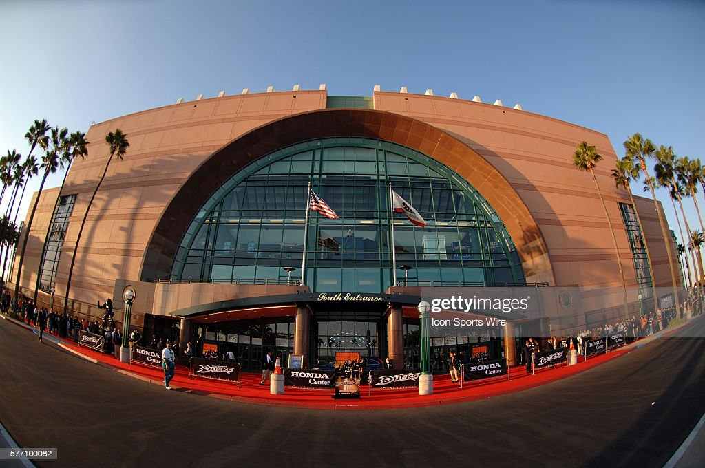 The Honda Center Home Of The Anaheim Ducks In Anaheim CA