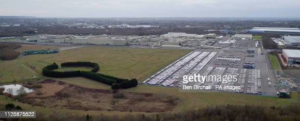 The Honda plant in Swindon which the company has confirmed will close in 2021 with the loss of 3500 jobs