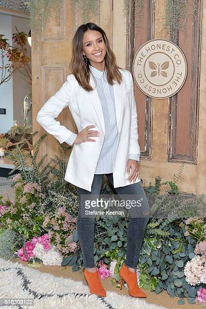The Honest Company hosted a conversation with Founder Jessica Alba and First Lady of Los Angeles, Amy Elaine Wakeland, for the Getty House Foundation...
