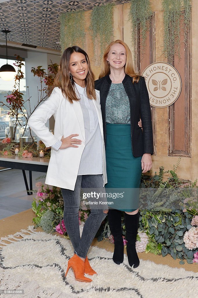 The Honest Company hosted a conversation with Founder Jessica Alba and First Lady of Los Angeles, Amy Elaine Wakeland, for the Getty House FoundationÕ WomenÕs Leadership Series. Following, Mayor Eric Garcetti welcomed The Honest Company with co-founders Jessica Alba and Sean Kane to Los Angeles with a special ribbon cutting ceremony and proclamation on March 30, 2016 in Beverly Hills, California.