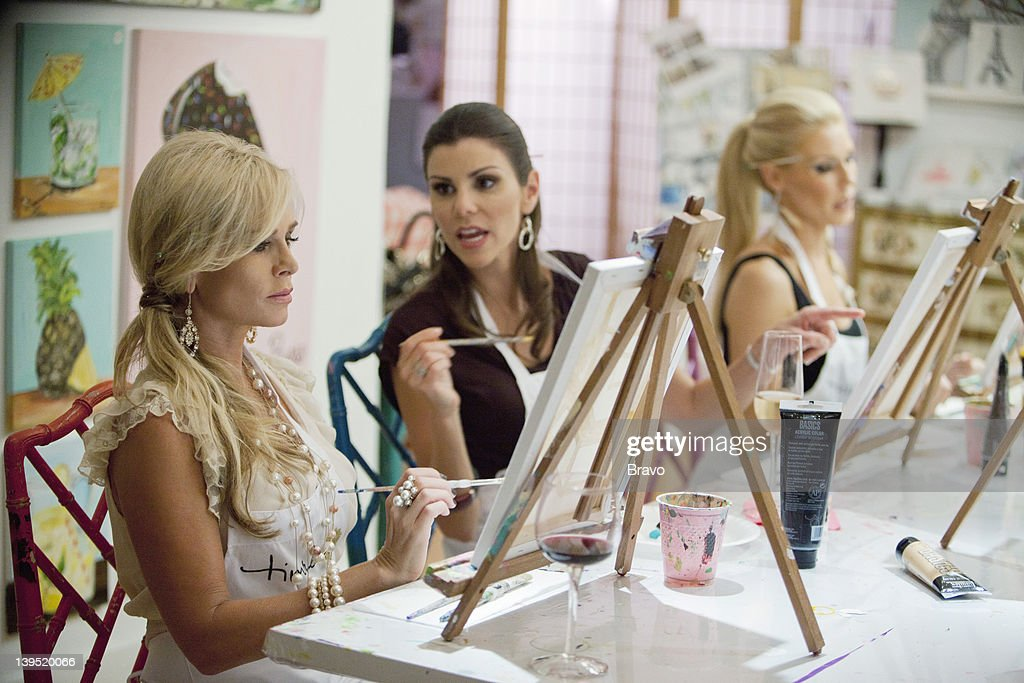 COUNTY -- 'The Honeymoon Is Over' Episode 703 -- Pictured: (l-r) Tamra Barney, Heather Dubrow --