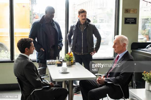 NINE The Honeypot Episode 607 Pictured Karan Soni as Gordon Lundnt Andre Braugher as Ray Holt Andy Samberg as Jake Peralta