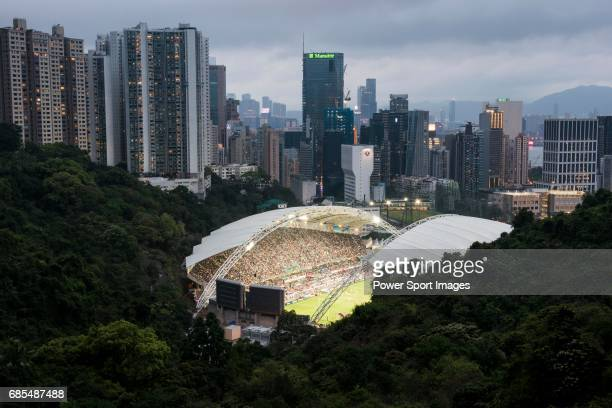 The Hong Kong Stadium is seen before the Closing Ceremony of the HSBC Hong Kong Rugby Sevens 2017 on 09 April 2017 in Hong Kong Hong Kong