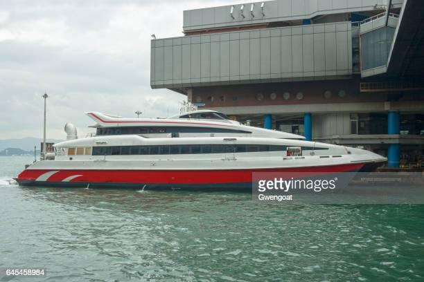The Hong Kong-Macau Ferry Terminal in Sheung Wan