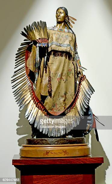 'The Honor Dress' Native American Woman Top of the Rock Museum Branson Missouri