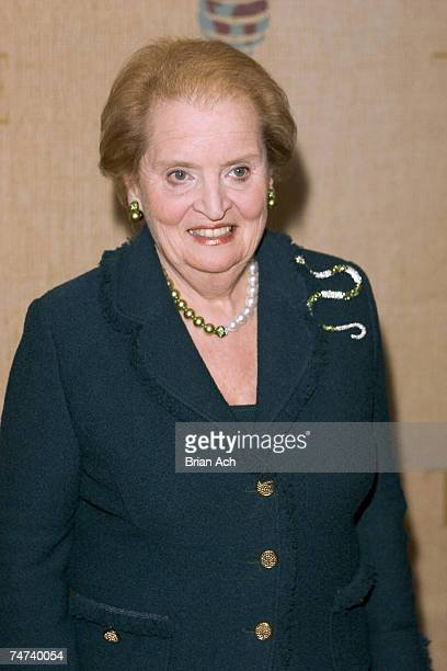 The Honorable Madeleine Albright at Time Magazines' Global Health Summit focusing on 10 major global health challenges and recognizing truelife...