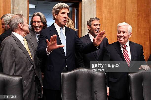 The Honorable Princeton Lyman Mr John Prendergast Cofounder Satellite Sentinel Project Senate Foreign Relations Committee Chairman John Kerry George...