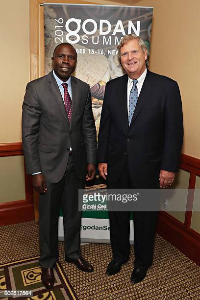 The Honorable Thomas Vilsack Secretary Department of Agriculture United States of America met with The Honourable Willy Bett Minister Ministry of...