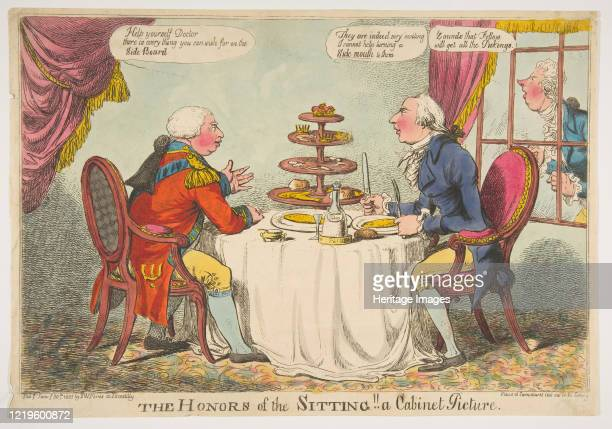 The Honors of the Sitting A Cabinet Picture January 30 1805 Artist Charles Williams