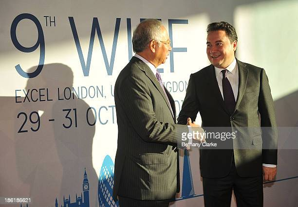 The Honourable Dato' Sri Mohd Najib Tun Abdul Razak Prime Minister of Malaysia Patron WIEF Foundation greets HE Ali Babacan Deputy Prime Minister of...