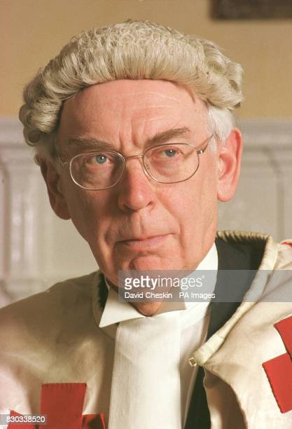 The Honourable Lord Coulsfield pictured at the High court in Edinburgh He will be one of three judges to hear the trial of two Libyans accused of...